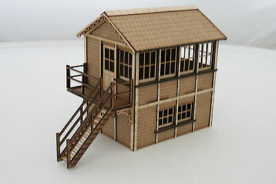 Fine Scale Signal Box Left Hand Oo Gauge Kit