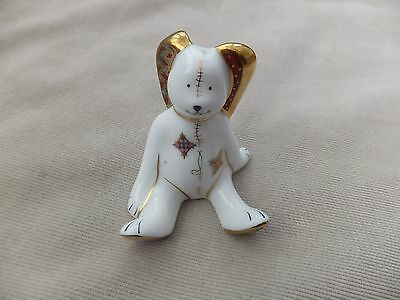 royal crown derby paperweight - floppy bunny - treasuers of childhood