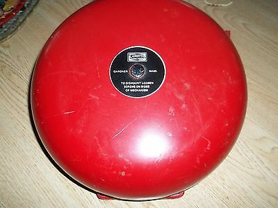 Used Simplex Wall Mount Fire Alarm Type 4070-6 Gardner Mass Audible Signal