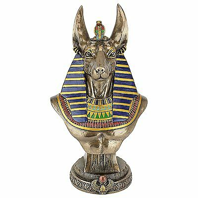 Anubis Anpu Inpu Ancient Egypt Egyptian God Deities African Artwork Statue Decor