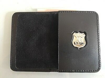 NYPD Mini Badge with Wallet - 2017 NYPD NYPD - PBA