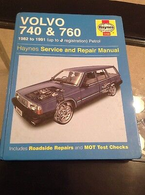 VOLVO 740 & 760 HAYNES SERVICE & REPAIR MANUAL 1982 To 1991 Only £10 Free Post