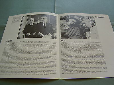 Rare Rediffusion TV Edward Fox John Le Mesurier Max Adrian 1964 UK Publicity