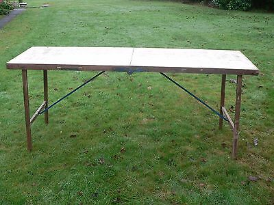 Pasting Table - Ideal Boot Sale - Very Quick & Easy Easy To Erect.