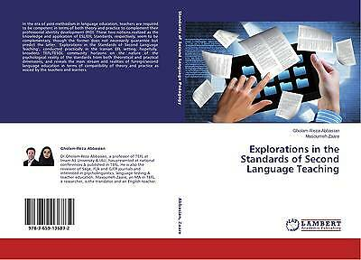9783659136832 Explorations in the Standards of Second Language Teaching - Gholam