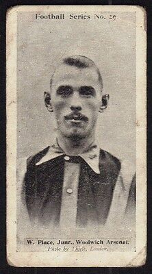 Wills Football Card 1902 - Woolwich Arsenal - Place.