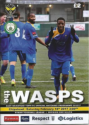 East Grinstead Town v Chipstead 2016/17