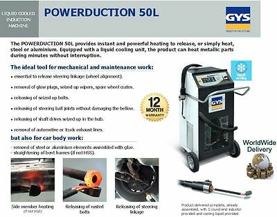 Gys Powerduction Water Cooled Induction Machine Instant + Powerful Heating