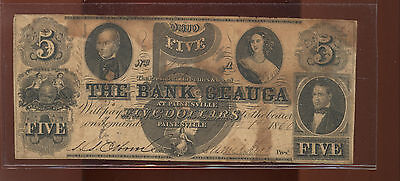 $5, Bank of Geauga, Painesville, OH Haxby OH355 C24 VG