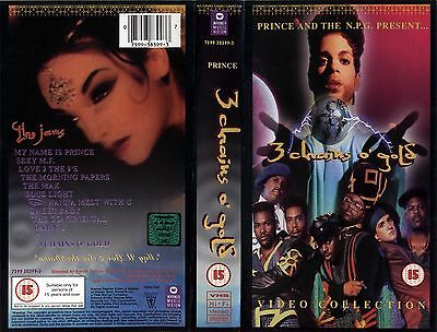 VHS: Prince & the NPG: 3 Chains O' Gold (PAL) UltraRARE