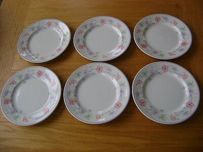 Boots Carnation 6 Side Plates