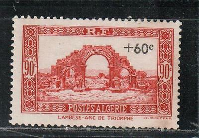 1942 French colony stamps, Algeria, full set MH, SC B38