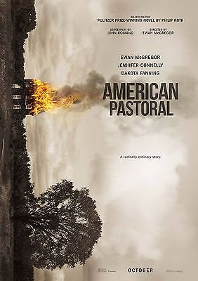 American Pastoral - A4 Glossy Poster -TV Film Movie Free Shipping #712