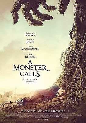 A Monster Calls - A4 Glossy Poster -TV Film Movie Free Shipping #713
