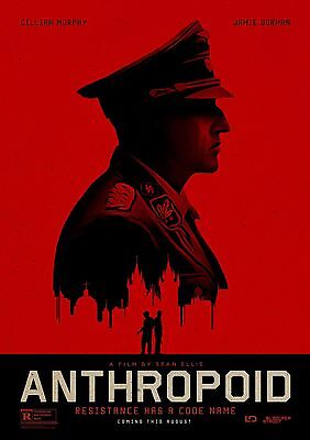 Anthropoid - A4 Glossy Poster -TV Film Movie Free Shipping #714