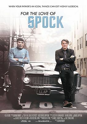 For The Love Of Spock - A4 Glossy Poster -TV Film Movie Free Shipping #716
