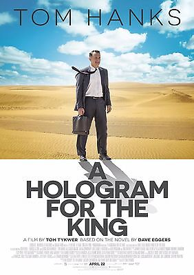 A Hologram For The King - A4 Glossy Poster -TV Film Movie Free Shipping #718