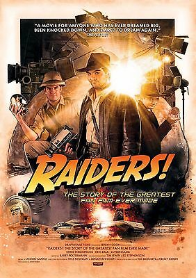 Raiders! - A4 Glossy Poster -TV Film Movie Free Shipping #721