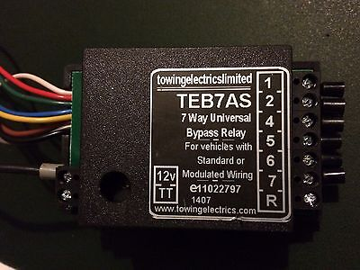 TEB7AS Towing Relay
