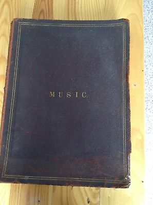 Vintage/Antique Music Book - Collection Of Approx 40 Music Scores