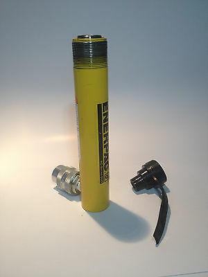 """ENERPAC RC-55 Hydraulic Cylinder, 5 Tons, 5"""" Stroke, 10,000 psi"""