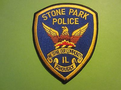 Collectible Illinois Police Patch,Stone Park, New