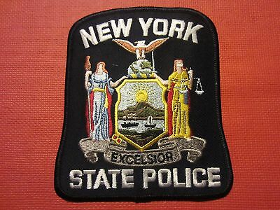 Collectible New York State Police Patch New