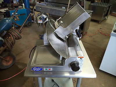 Globe Commercial Food Slicer Model 4600 with Stand