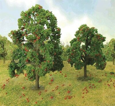 "JTT Scenery Products Apple Tree Grove O-Scale 4.5"" - 5"", 2/pk 92126"