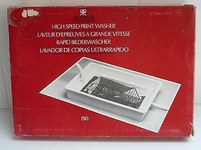 Vintage Paterson High Speed Print Washer 10x8 810 - New