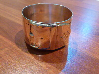 Unusual Silver Napkin Ring - 134 years old