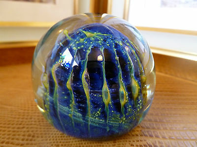 Vintage Mdina Art Glass Paperweight Unmarked