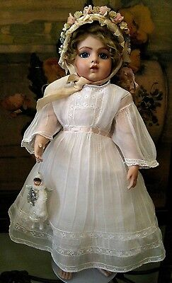 Antique Repro Angel 4 French Bisque Head Bru Doll Angel Only