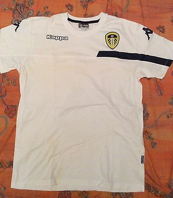 LEEDS UNITED Training/Casual Football T-Shirt 15/16 Kappa