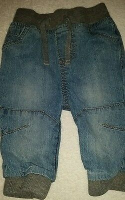 ☆Baby Boys 3-6mths Soft Jeans☆