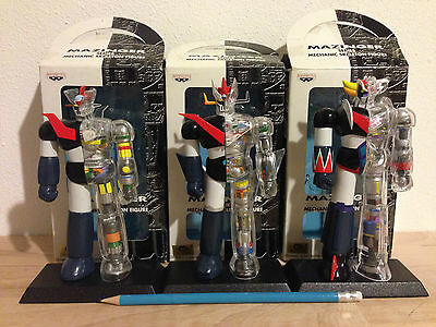 Banpresto Mazinger Z,  Great Mazinger, Goldrake Mechanic Skeleton Figure Set