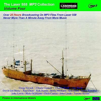 Pirate Radio-Laser 558 VOLUME 4 Over 25 Hours MP3 Files
