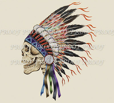 Grateful Dead Spring '90 Indian Head Sticker    SOLD OUT    OUT OF PRINT