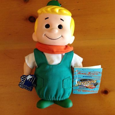 Vintage 1990 Jetsons Elroy Applause Vinyl Figurine Doll with Tags