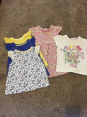 Mothercare girls bundle of clothes 12 to 18 months