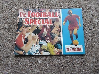 The Football Special booklet presented with The Victor 1960's