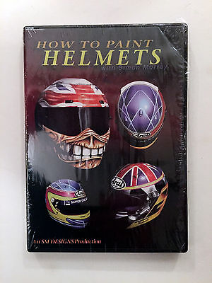 DVD How to paint helmets with Simon Murray 220 009