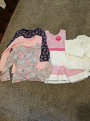 Assorted named Girls bundle of clothes 12 to 18 months