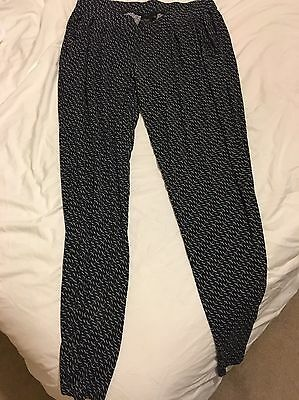 Women's Next Maternity Trousers Size 10 Comfy