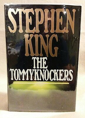 The Tommyknockers by Stephen King 1st Edition 1st US Print 1987