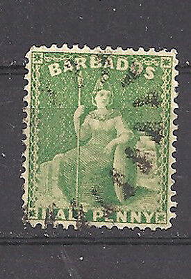 Barbados , 1875/78 , Britannia ,  Stamp , Perf , Used