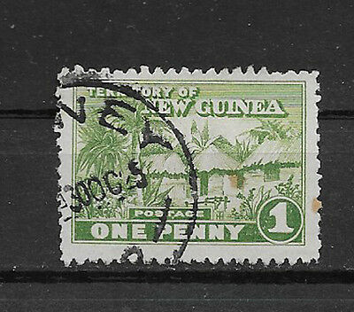 NEW GUINEA , 1925/28 , NO. 2 ,  1p STAMP ,  PERF, USED