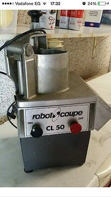 ROBOT COUPE CL50 COMMERCIAL KITCHEN VEG PREP SLICER CUTTER, A Must For Chefs