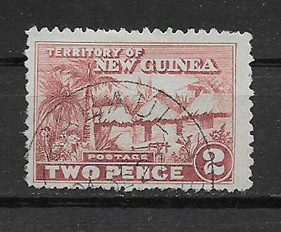 NEW GUINEA , 1925/28 , NO.4 ,  2p STAMP ,  PERF, USED