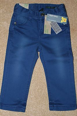 BENETTON Baby Boys Jeans Size 12 Months NEW